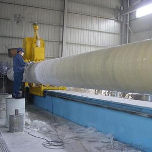 FRP composite Filament Fiberglass pipe winding machine made in China