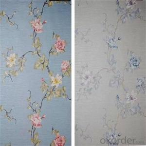 Cheap Interior Decoration Waterproof pvc Wallpaper for Hotels
