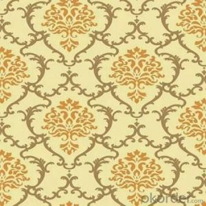 Beautiful Damask pvc Vinyl Home Decorative Interior Wallpaper Factory in China