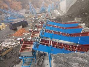 Energy saving sand and stone production line
