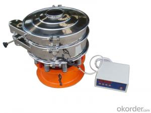 Hot sale high efficiency ultrasonic vibrating sieve for food industry