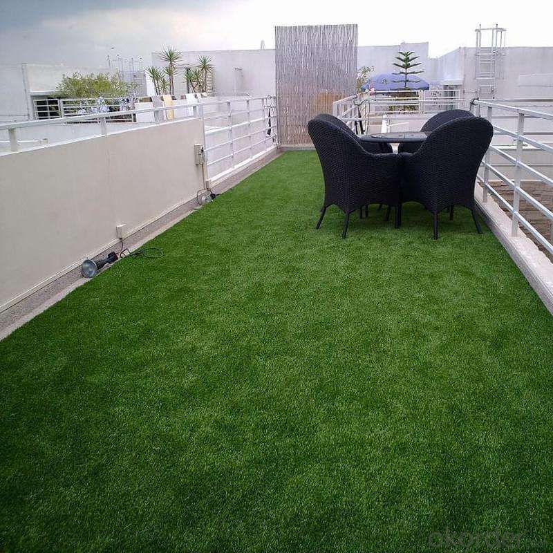 Economical artificial grass football with lots of density