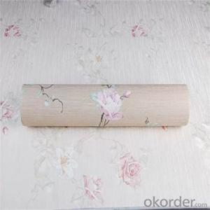 Classical Design Vinyl Flooring Deep Embossed Flower Making Wallpaper for House