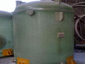 FRP tanks and vessels with high quality and no toxic on sales
