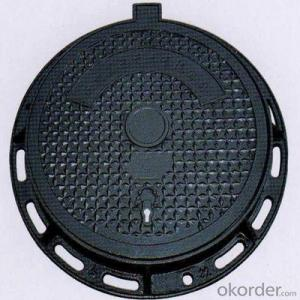 D600 Cast Iron Grill Oil Tank Manhole Covers for Minging