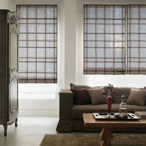 Roller Blinds With Smooth Quiet Fascia Chain System For Window