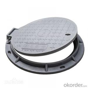 Ductile Iron Manhole Cover for Construction and Mining
