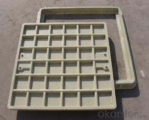 Dctileu Iron Manhole Cover of Gery with Different Shapes