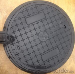 Cast Ductile Iron Manhole Cover of Grey with Competitive price for Construction in Hebei