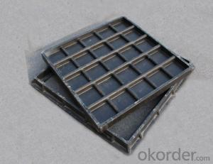 Casting Iron Manhole Cover For Construction and Mining with EN124
