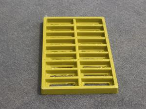 Ductile Manhole Cover with Kinds of Gratings and Colors