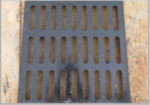 Ductile Iron Manhole Cover with Different New Designs for Mining with EN124
