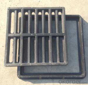 Heavy Duty Ductile Casting Iron Manhole Cover