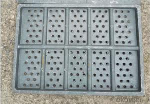 Ductile Casting Iron Manhole Covers Made by Professional Supplier