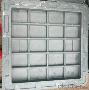 cast ductile iron manhole covers for mining and industry OEM in China