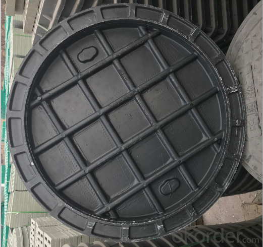 casting ductile iron manhole covers for mining and industry OEM in China