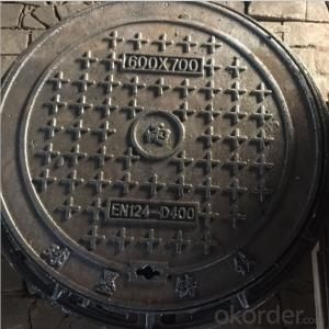cast ductile iron manhole cover for mining and industry OEM in Hebei