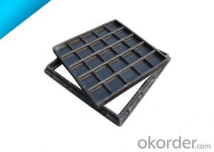 Ductile Iron telecom Manhole Cover with OEM Service