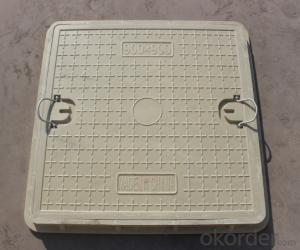 Casting Ductile Iron Manhole Covers with OEM Standard in China