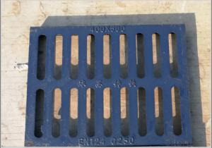 Cast OEM ductile iron manhole cover with high quality for industry in China