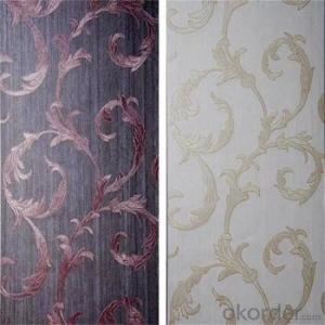 2018 Flower Design pvc Wallpaper for Home Decoration