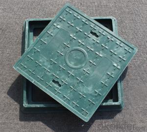 Cast ductile iron manhole covers with high quality for industry and construction in China