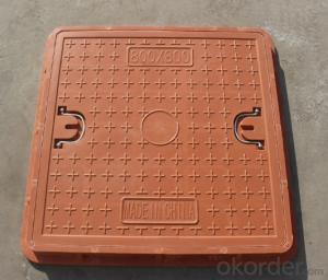 Casting Ductile Iron Manhole Covers B125 D400 for Mining with Competitive Prices