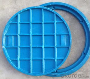Casting Ductile Iron Manhole Covers hot sale in Hebei
