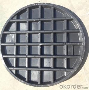 Casting Ductile Iron Manhole Covers C250 B125 with Competitive Price in Hebei