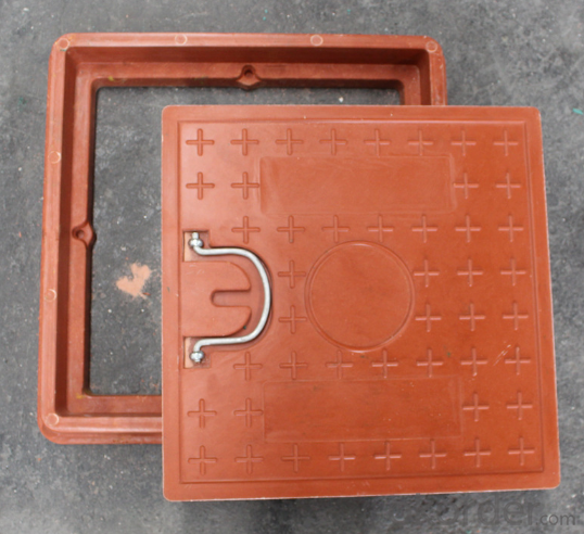 Ductile and Casting Iron Manhole Cover with Standard Sizes