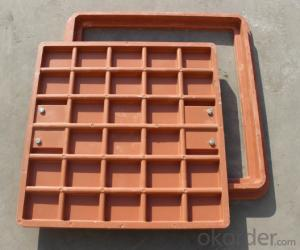 Casting Ductile Iron Manhole Cover of Grey with High Quality in China