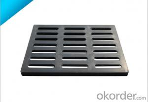 Casting Ductile Iron Manhole Covers of Grey with High Quality in Hebei