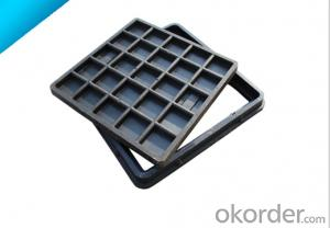 Cast OEM ductile iron manhole covers with high quality for industry in China