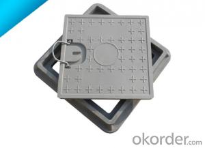 ductile iron manhole cover with high quality in Hebei