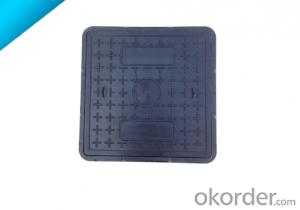 Casting Ductile Iron Manhole Covers of Grey with High Quality for Construction and Mining