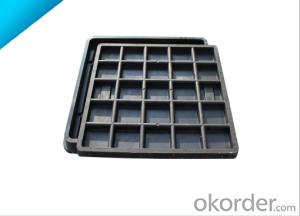 Hinged Ductile Casting Manhole Cover with EN124