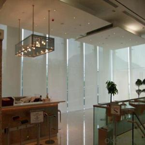 Industrial Motorised Roller Sunscreen Blinds