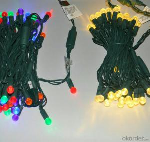 Outdoor Indoor Colorful G12 Led Light String LED Light String Home Wedding Christmas Decoration