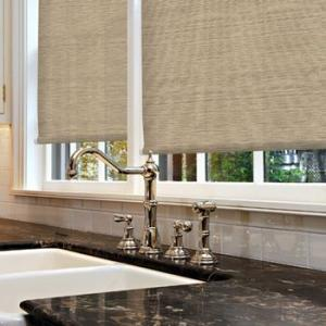 Roller Blinds Motorized with Tubular Motor for Windows