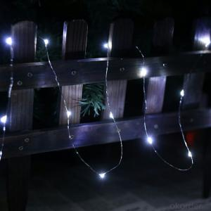 Outdoor Indoor Cold White Copper Wire String Lights for Wedding Party Home Decoration