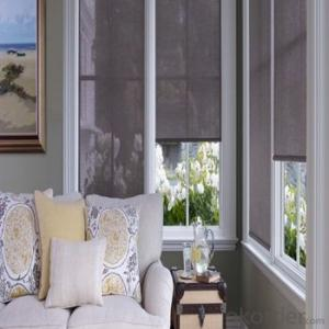 Roller Blinds Blackout with One Way Vision for Homes