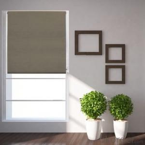 Zipper Roller Blind Curtain for The Living Room