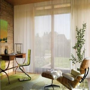 Window Coverings Shangri-la Roller Blind And Curtain For Door