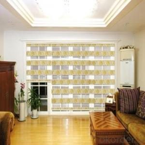 Waterproof Zebra Roller Blind with PVC Material for Shower