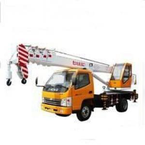 Small Truck Mounted Crane Truck Crane Max Lifting Capacity 2 Tons