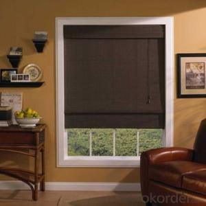 Ceiling Blind with Faux Wood Blind for Window Shutter