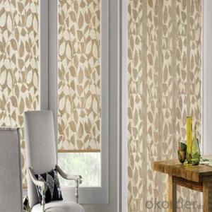 Faux Wood Blind Ceiling Blind for Window Shutters