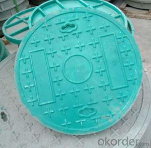 Industry Used Ductile Iron Manhole Cover EN124