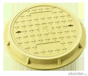Ductile Iron Manhole Cover for Construction and Mining EN124