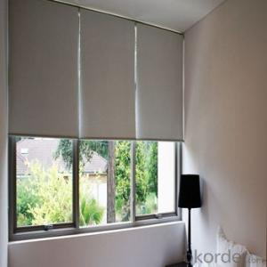 Printed Curtains and Blind with Simple Design